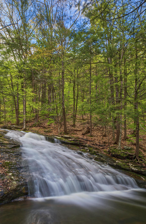 Chapel Falls at Chapel Brook Reservation by Juergen Roth