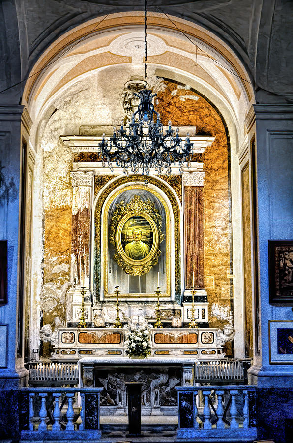 Chapel In Sorrento Cathedral by PAUL COCO