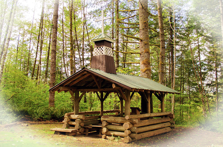 Chapel In The Woods Version 2 by Tikvah's Hope