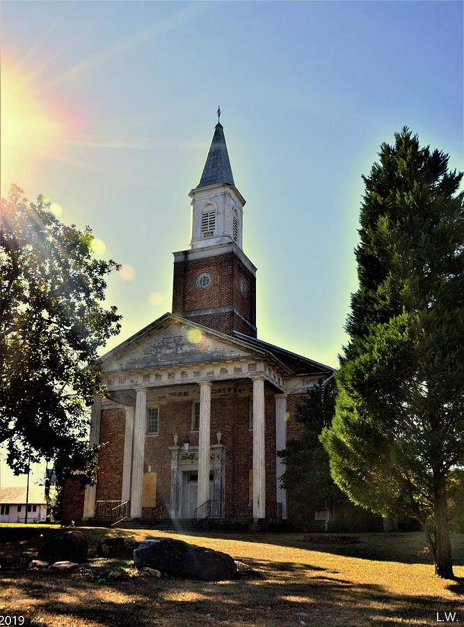 Chapel Of Hope Columbia State Hospital Vertical by Lisa Wooten