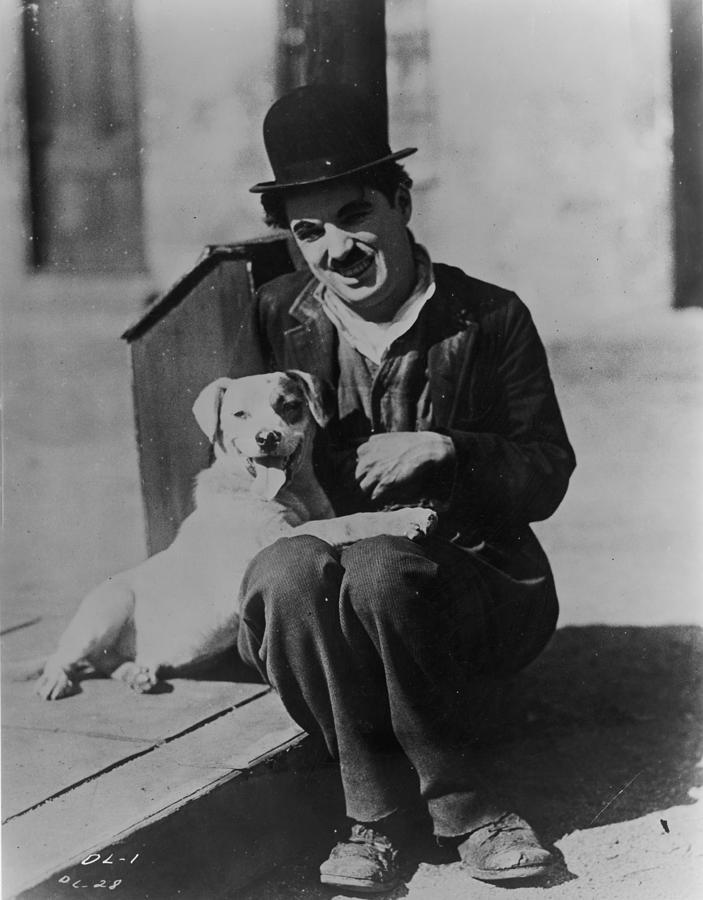 Charlie Chaplin Photograph - Chaplin And Mutt by Fpg