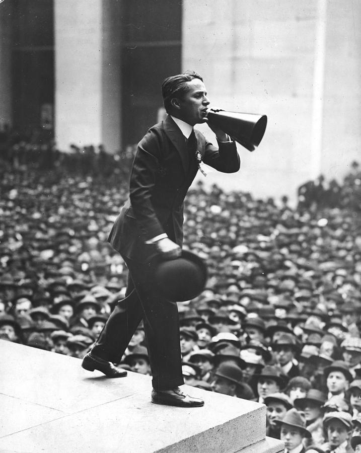 Chaplin Sells War Bonds Photograph by Fpg