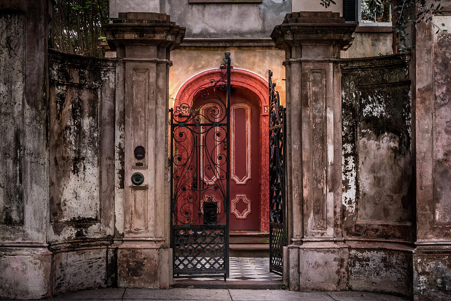 Chareleston's Famous Red Door by Ron Pate