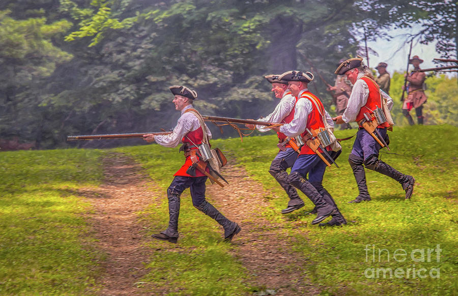 Charge at Bushy Run by Randy Steele