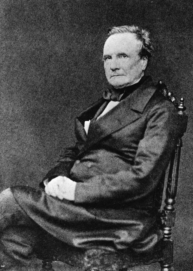 Charles Babbage Photograph by Hulton Archive