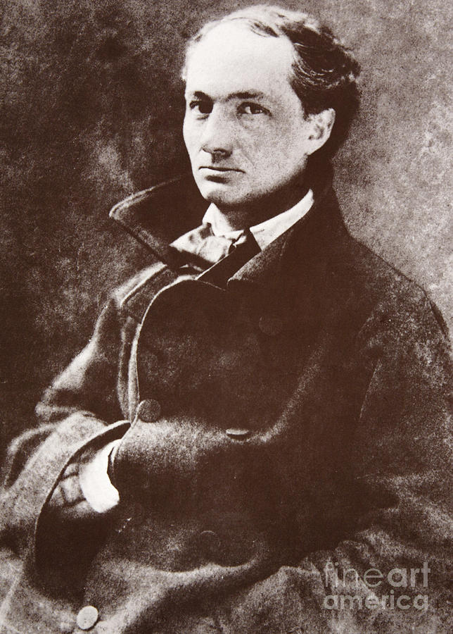 Charles Baudelaire, 1855 photogravure by Nadar