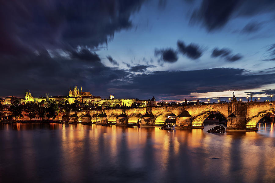 Charles Bridge Photograph - Charles Bridge by Andrei Dima