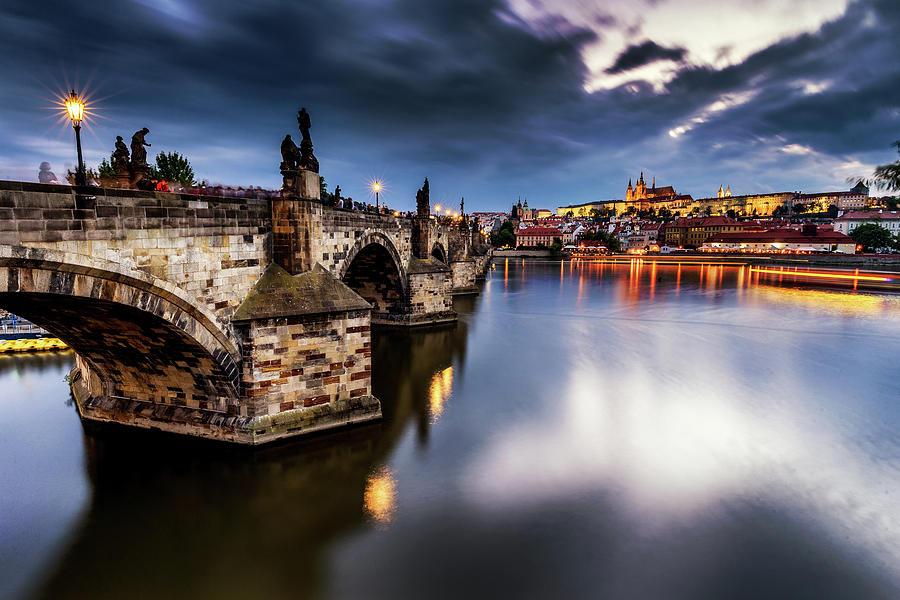 Charles Bridge Photograph - Prague by Andrei Dima