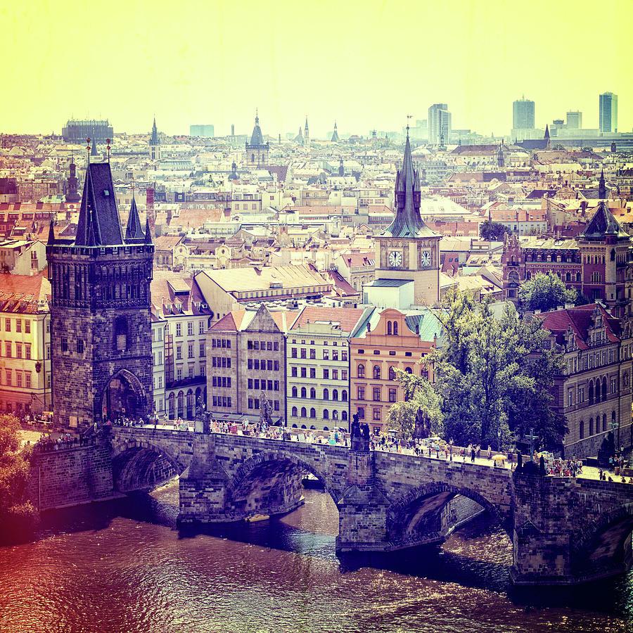 Charles Bridge, Prague Photograph by Pawel.gaul
