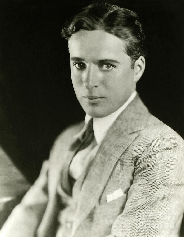 Charlie Chaplin Photograph - Charles Chaplin by Sad Hill - Bizarre Los Angeles Archive