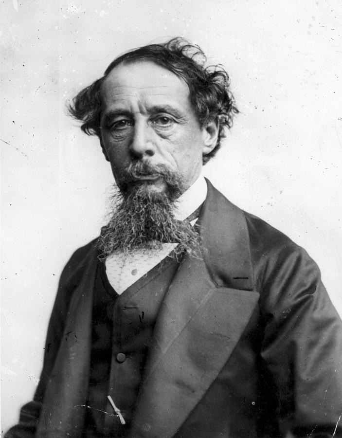 Charles Dickens Photograph by Rischgitz