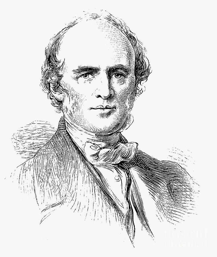 Charles Lyell, Scottish-born British Drawing by Print Collector