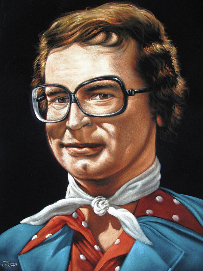 Charles Nelson Reilly Portrait #j458 Painting by Jorge Torrones