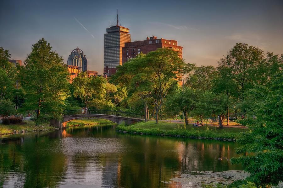Charles River Esplanade Summer by Joann Vitali