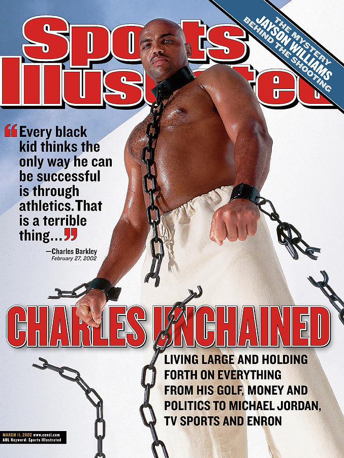 Charles Unchained Sports Illustrated Cover Photograph by Sports Illustrated