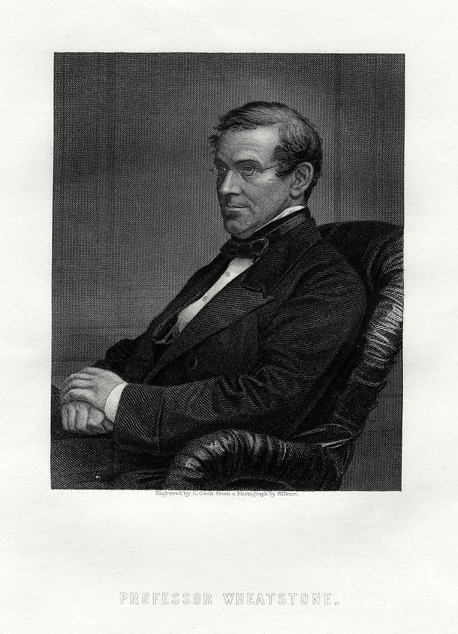 Charles Wheatstone 1802-1875, British Drawing by Print Collector