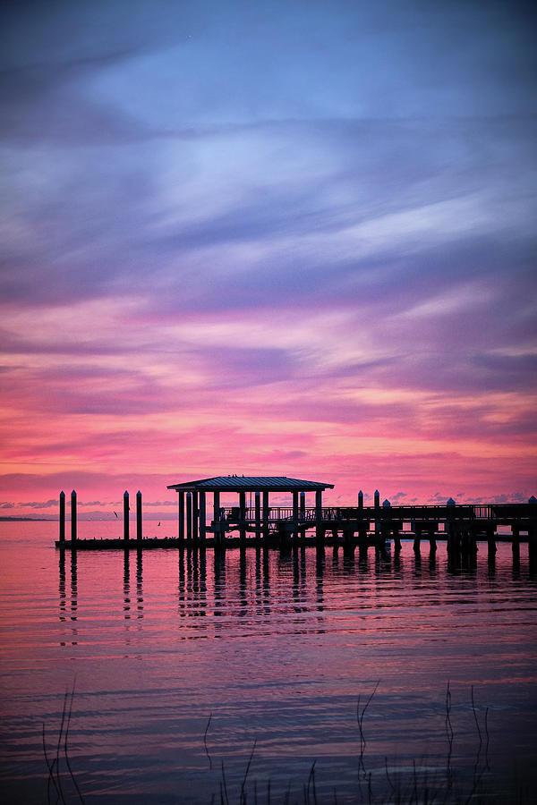 Charleston Harbor Sunrise II by Jon Glaser