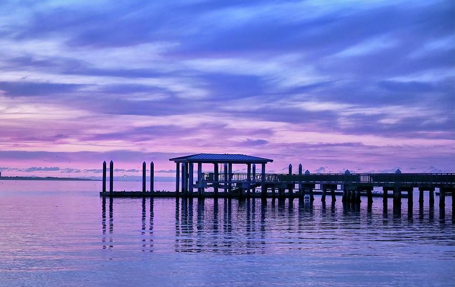 Charleston Harbor Sunrise by Jon Glaser