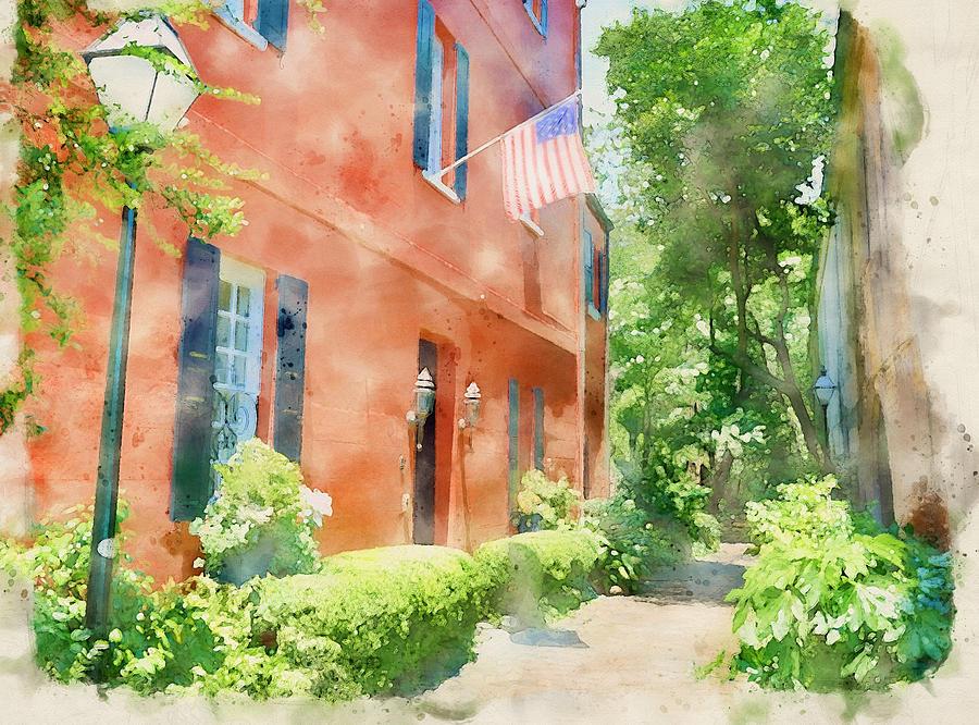 Charleston Watercolor by Dan Sproul