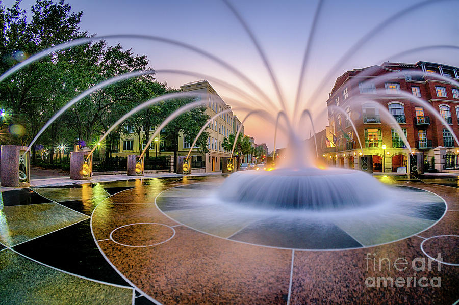 Charleston Waterfront Fountain by David Smith