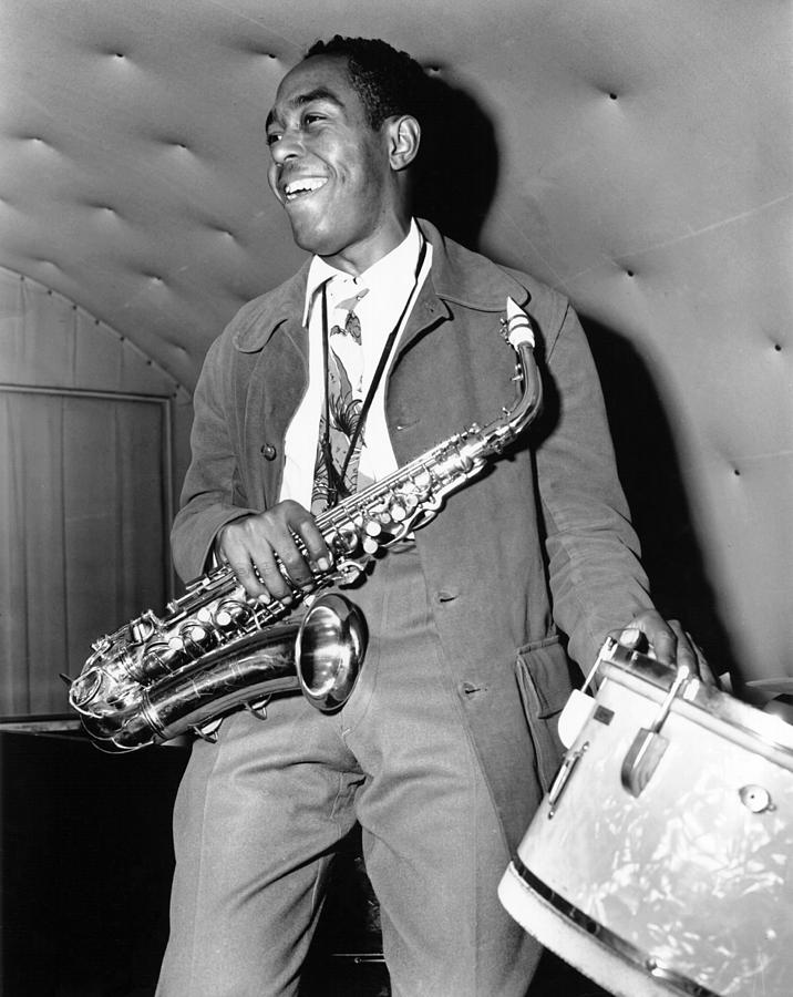 Charlie Parker Performing Photograph by Michael Ochs Archives