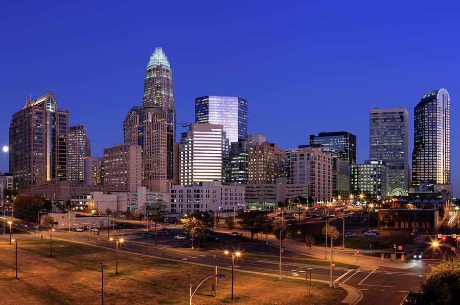 Charlotte, Nc Photograph by Jumper