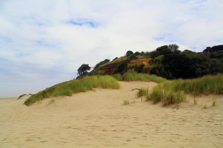 Beach Photograph - Charmed Coast by Alina Avanesian