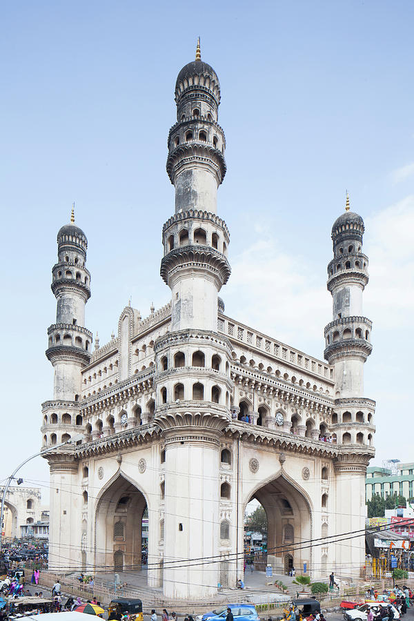 Charminar Monument In Hyderabad Photograph by Jasper James