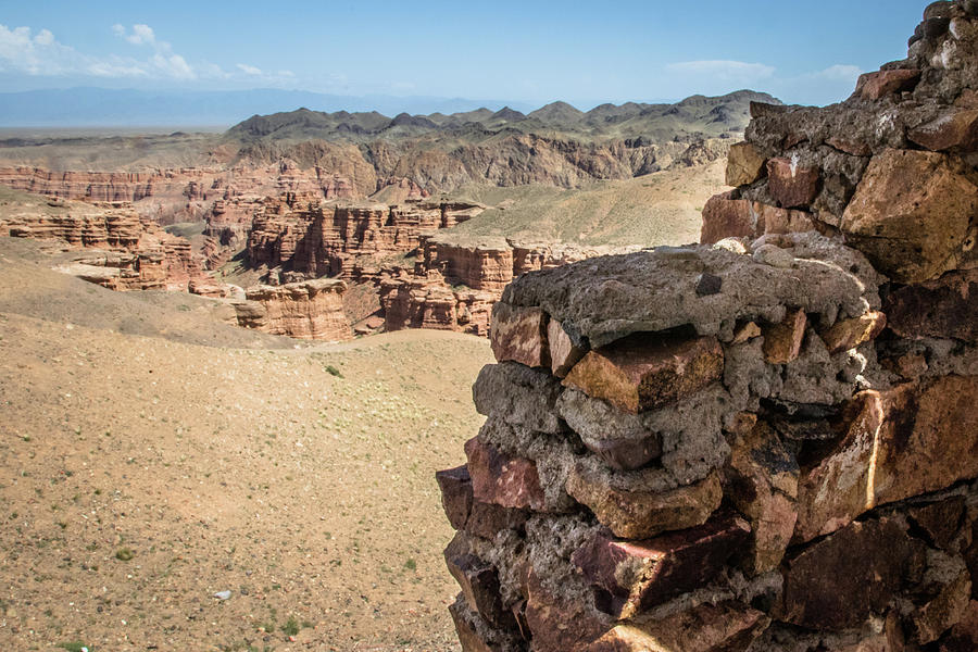 Charyn canyon in kazachstan and the valley of castles  was used  by Kim Vermaat