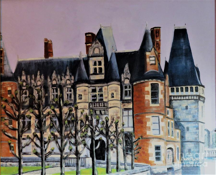 Chateau de Maintenon by Laurie Morgan
