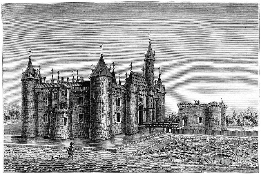 Chateau De Marcoussis, Paris, France Drawing by Print Collector