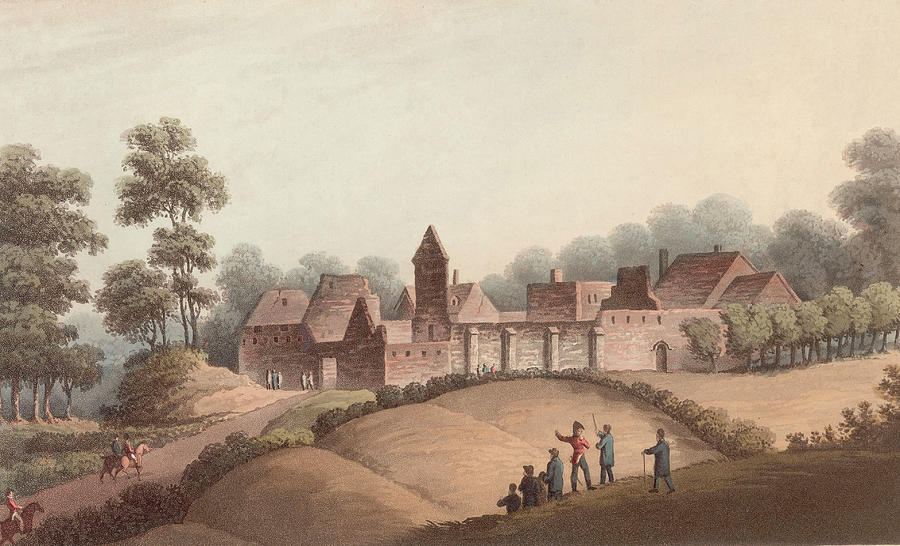 Chateau Dhougoumont Photograph by Hulton Archive
