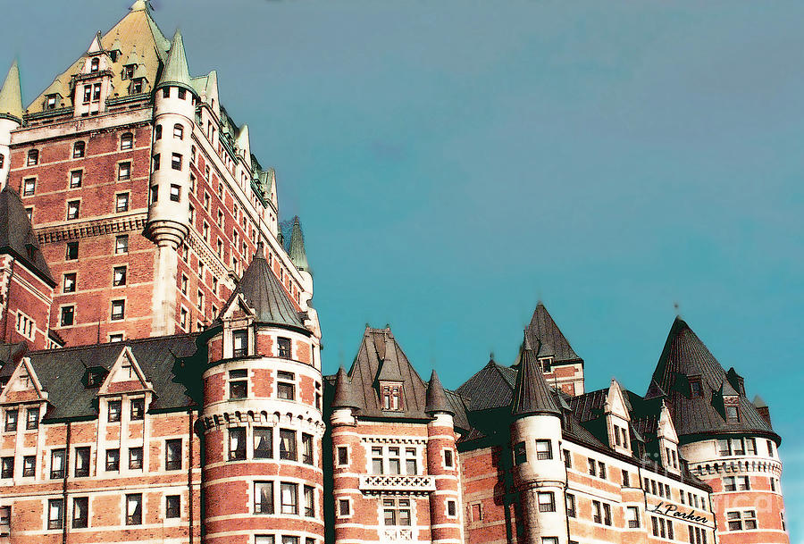 Chateau Frontenac by Linda Parker