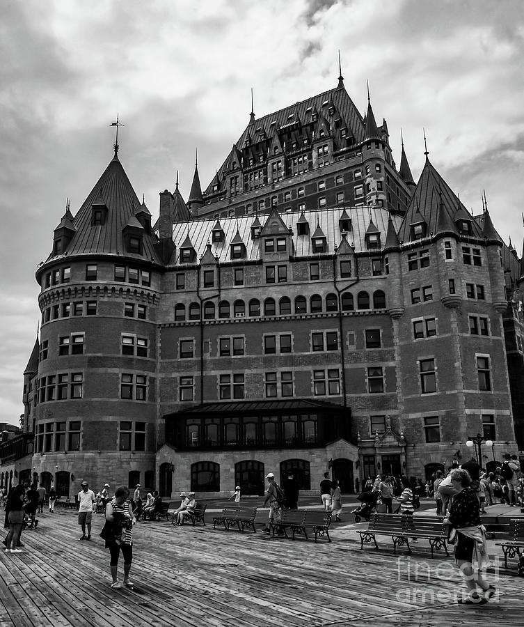 Chateau Frontenac by Mary Capriole