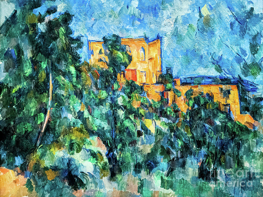 Chateau Noir by Cezanne by Paul Cezanne