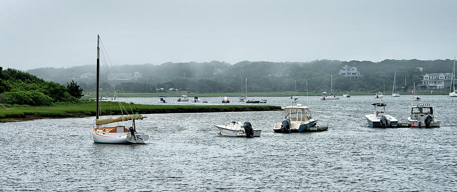Chatham Photograph - Chatham - Stage Harbor - Massachusetts by Brendan Reals
