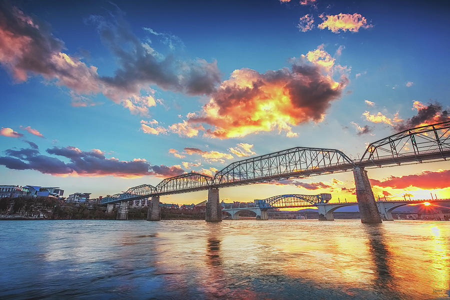 Chattanooga Sunset 6 by Steven Llorca
