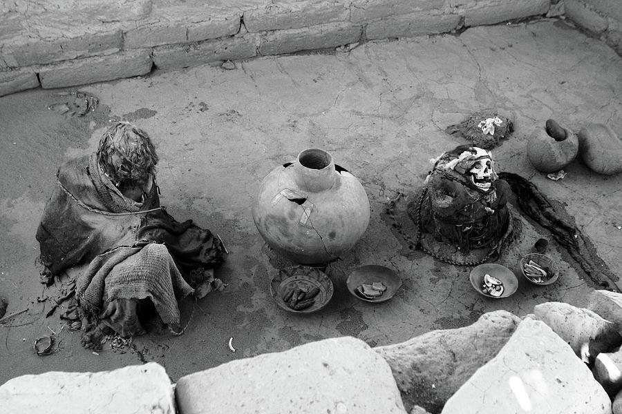 Chauchilla Cemetery, Nazca, Peru, South America by Aidan Moran