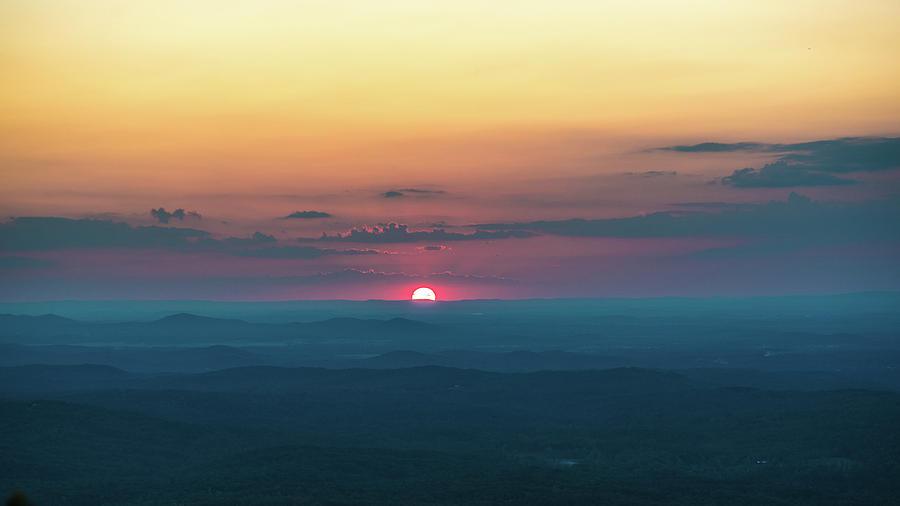 Cheaha Wilderness Sunset - Summer by James-Allen