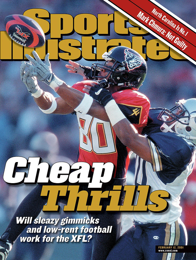 Cheap Thrills Will Sleazy Gimmicks And Low-rent Football Sports Illustrated Cover Photograph by Sports Illustrated
