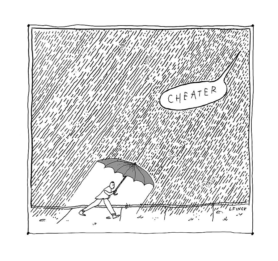 Cheater Drawing by Liana Finck