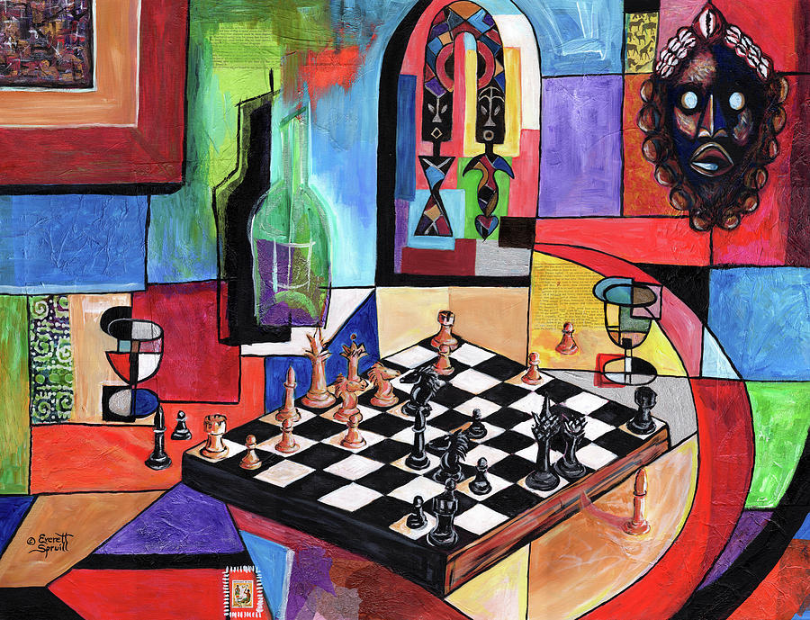 Checkmate by Everett Spruill
