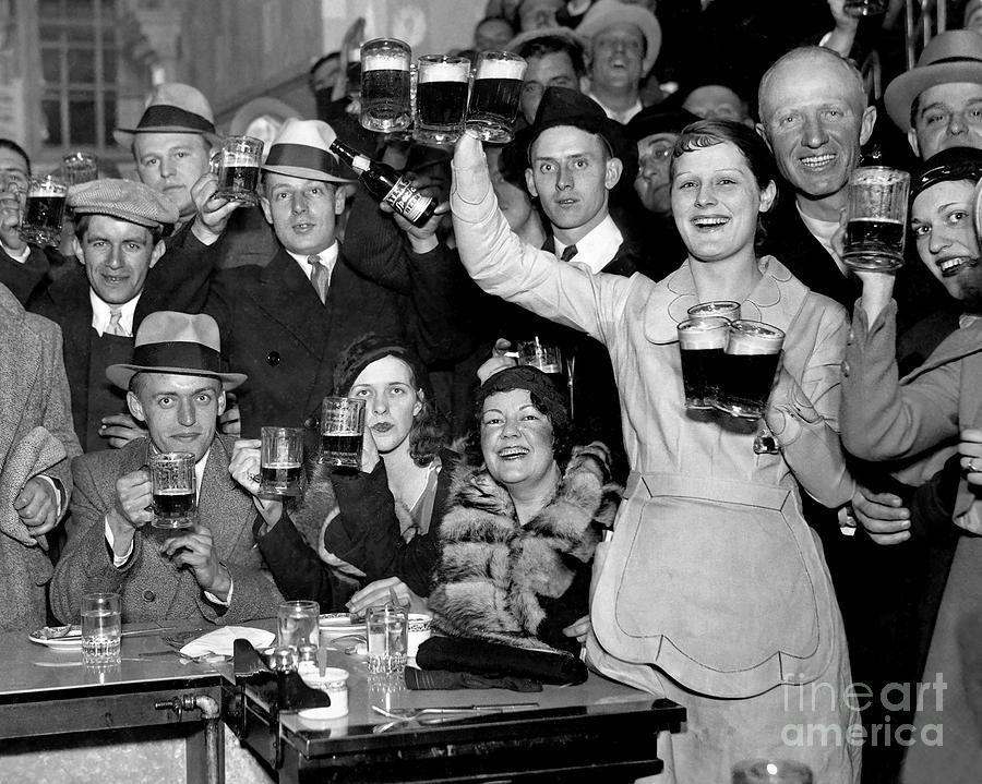 Prohibition Photograph - Cheers by Jon Neidert