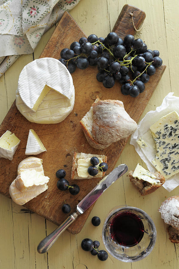 Cheese On Board Photograph by Studer-t. Veronika