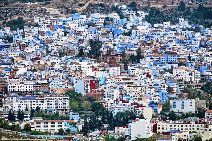 Chefchaouen Cityscape - Morocco by Stuart Litoff