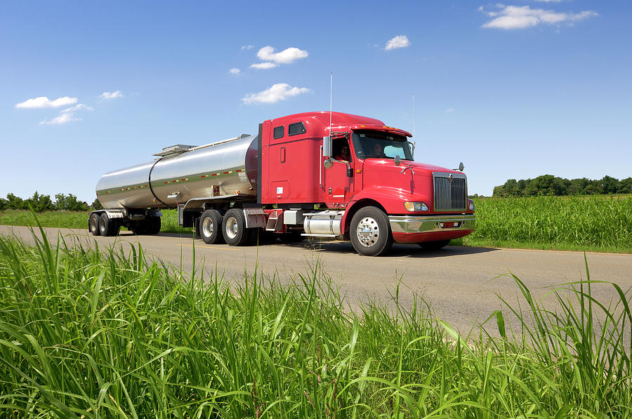 Chemical Tank Truck Photograph by Lester Lefkowitz