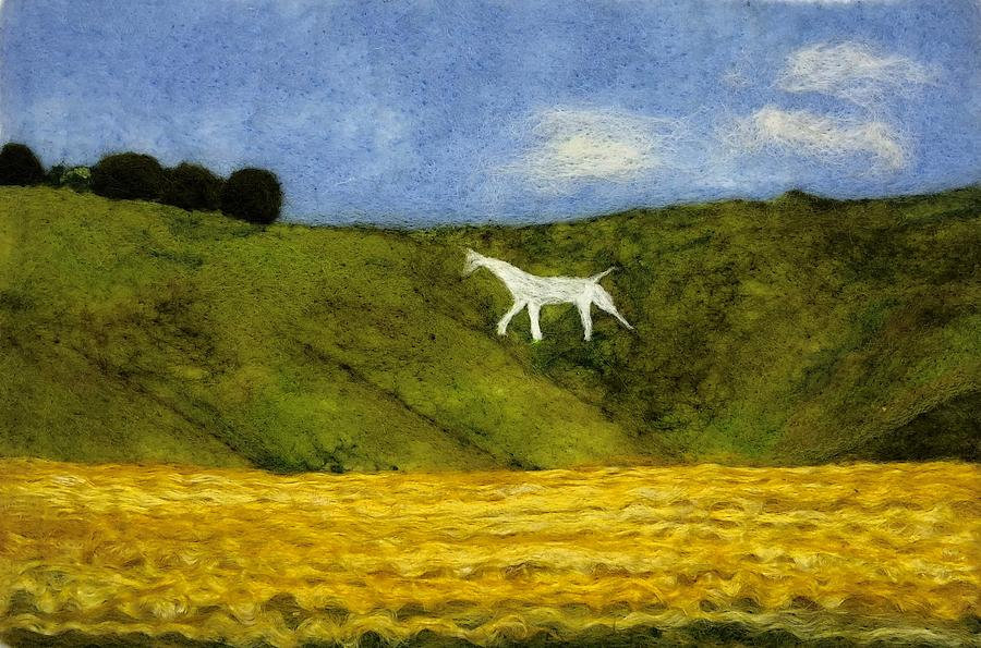 Cherhill White Horse by Ushma Sargeant