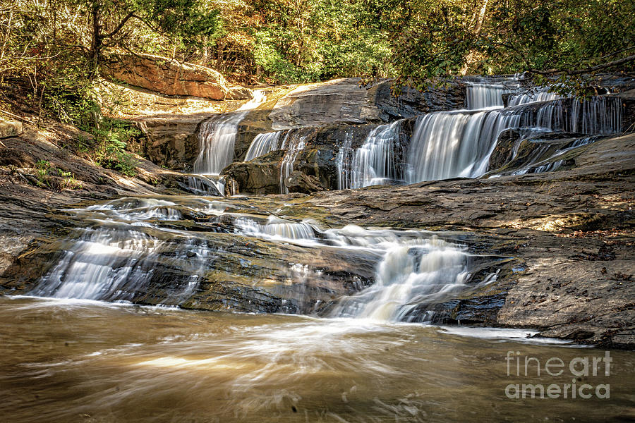 Cherokee Falls in Rope Mill Park by Nick Zelinsky
