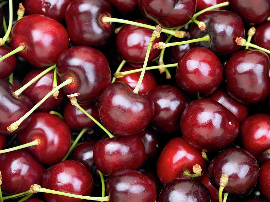 Cherries Photograph by Maria Toutoudaki
