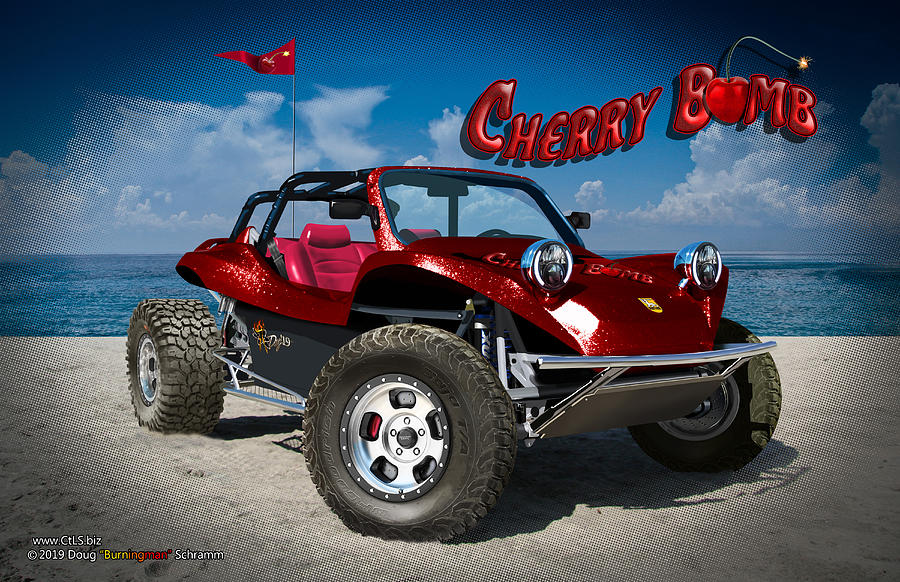 Cherry Bomb by Doug Schramm
